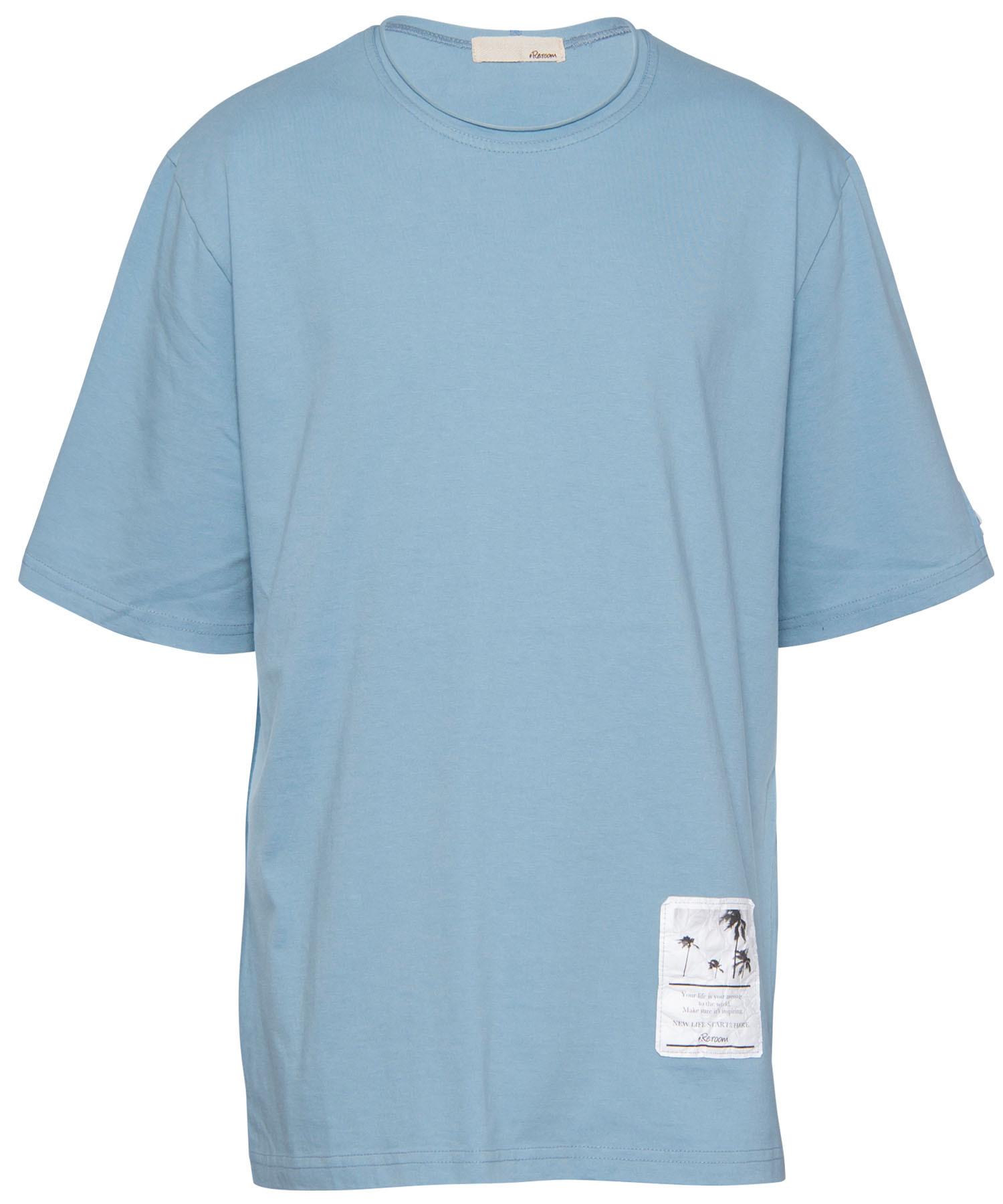 PALE COLOR BIG T-shirt[REC311]