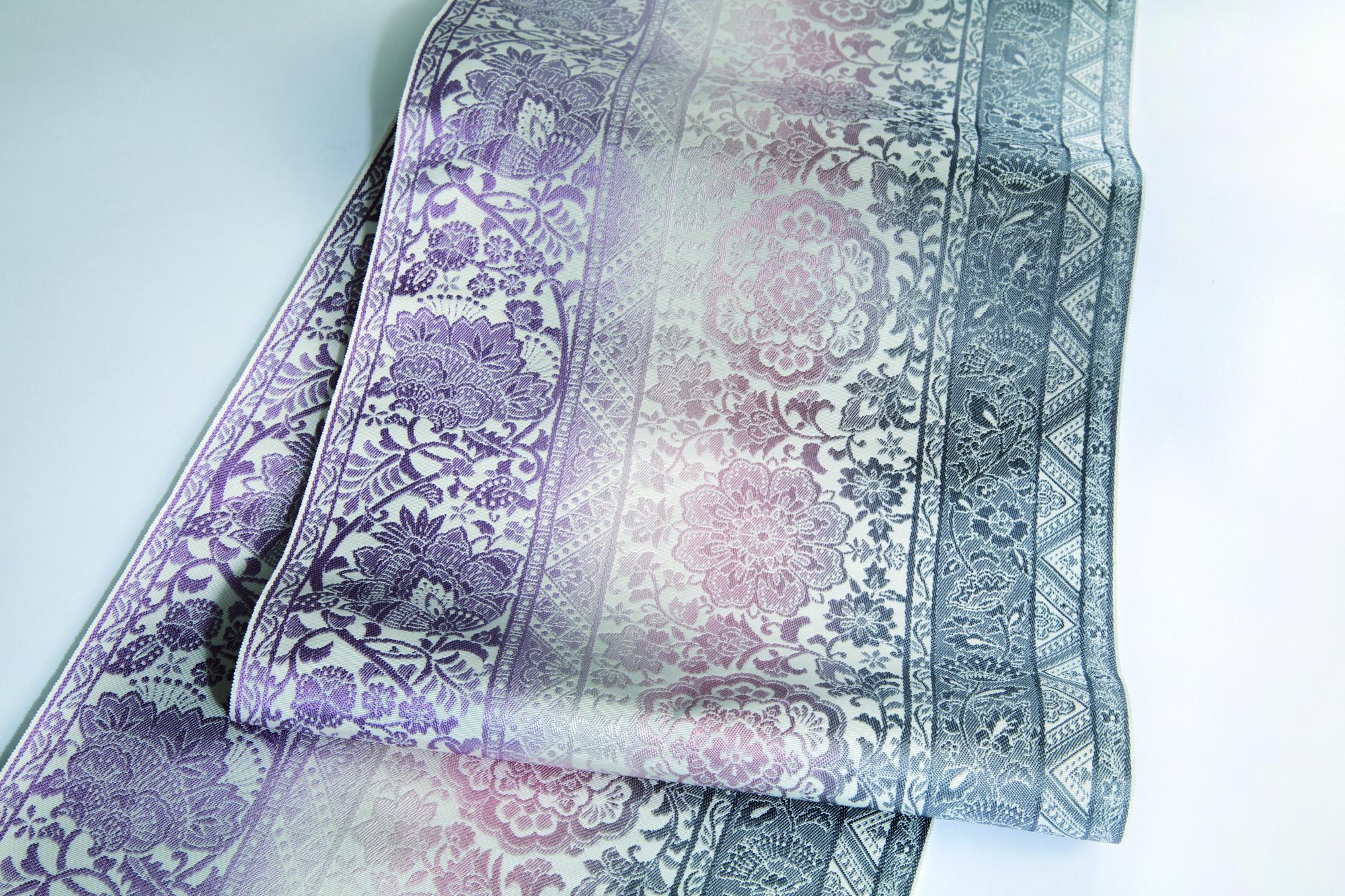 ペルシャ縞全通手織袋帯 - はかた匠工芸 -