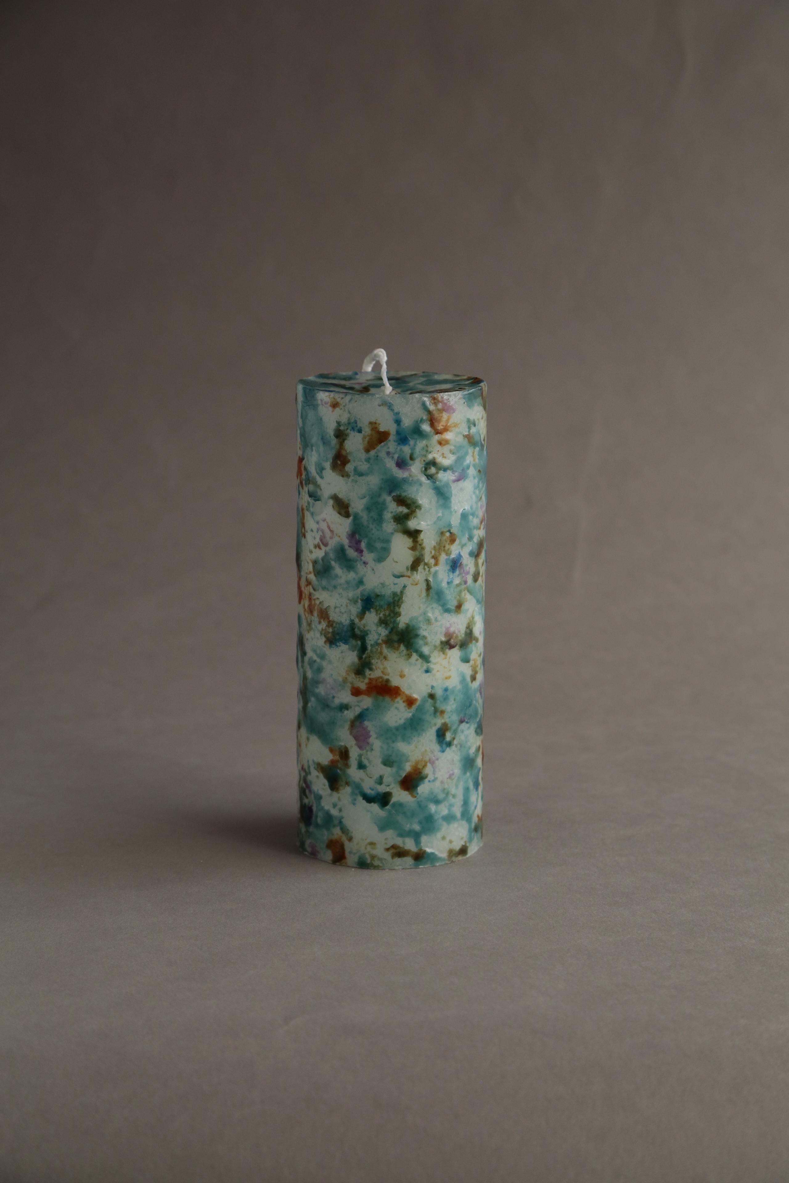 No.609 MIX (cylinder76-L-4000)  candle キャンドル