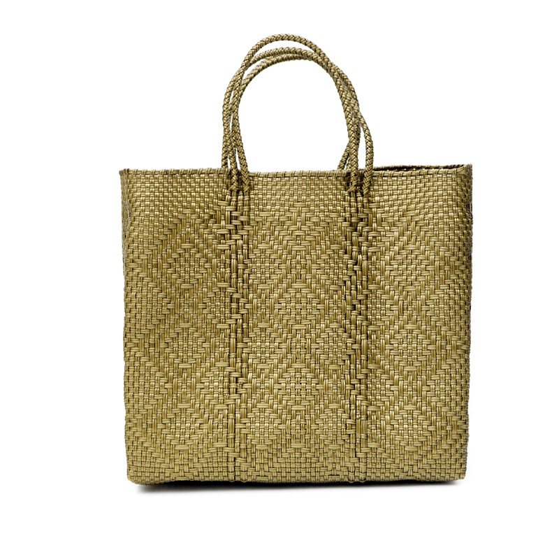 MERCADO BAG BIG ROMBO - Gold(M)