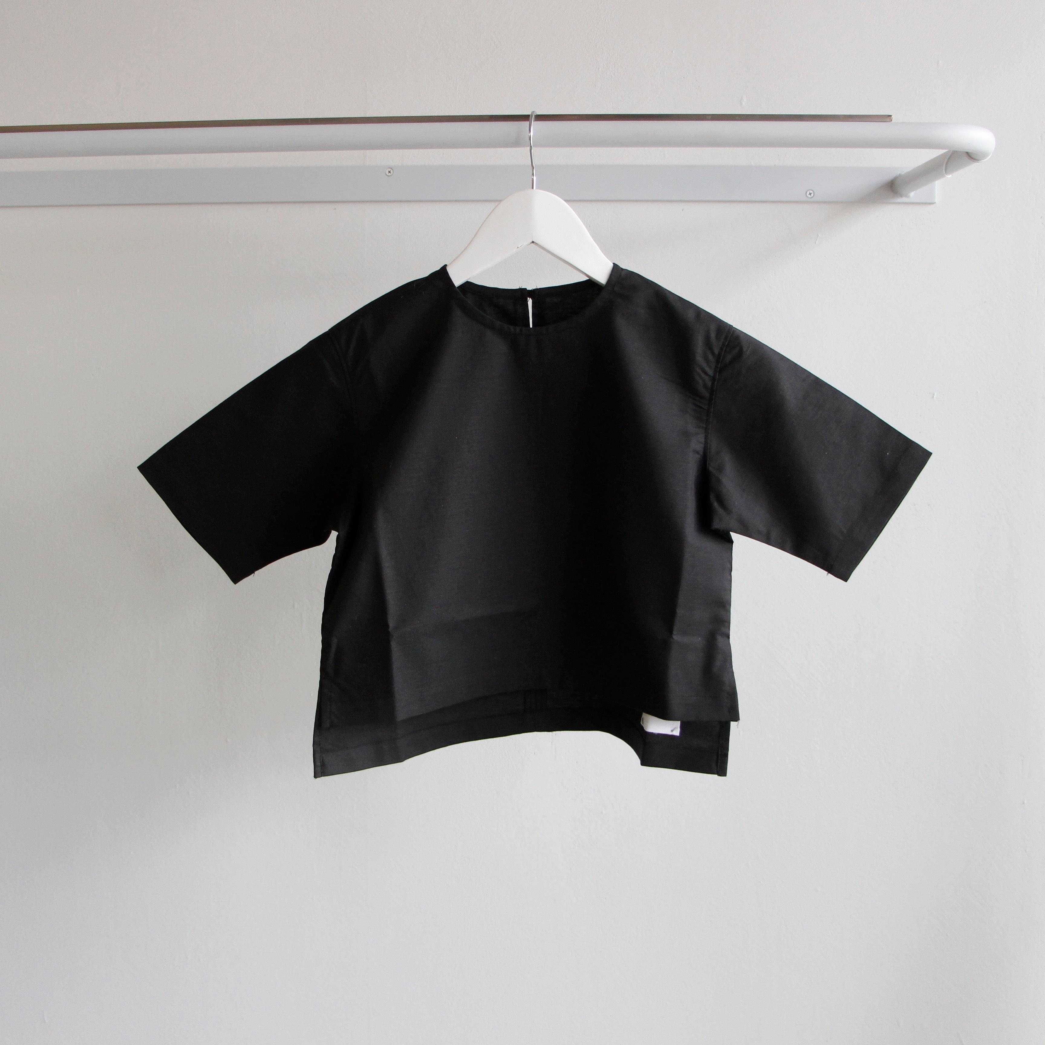 《WONDER FULL LIFE 2018SS》BLOUSE / black / L(130-140cm)