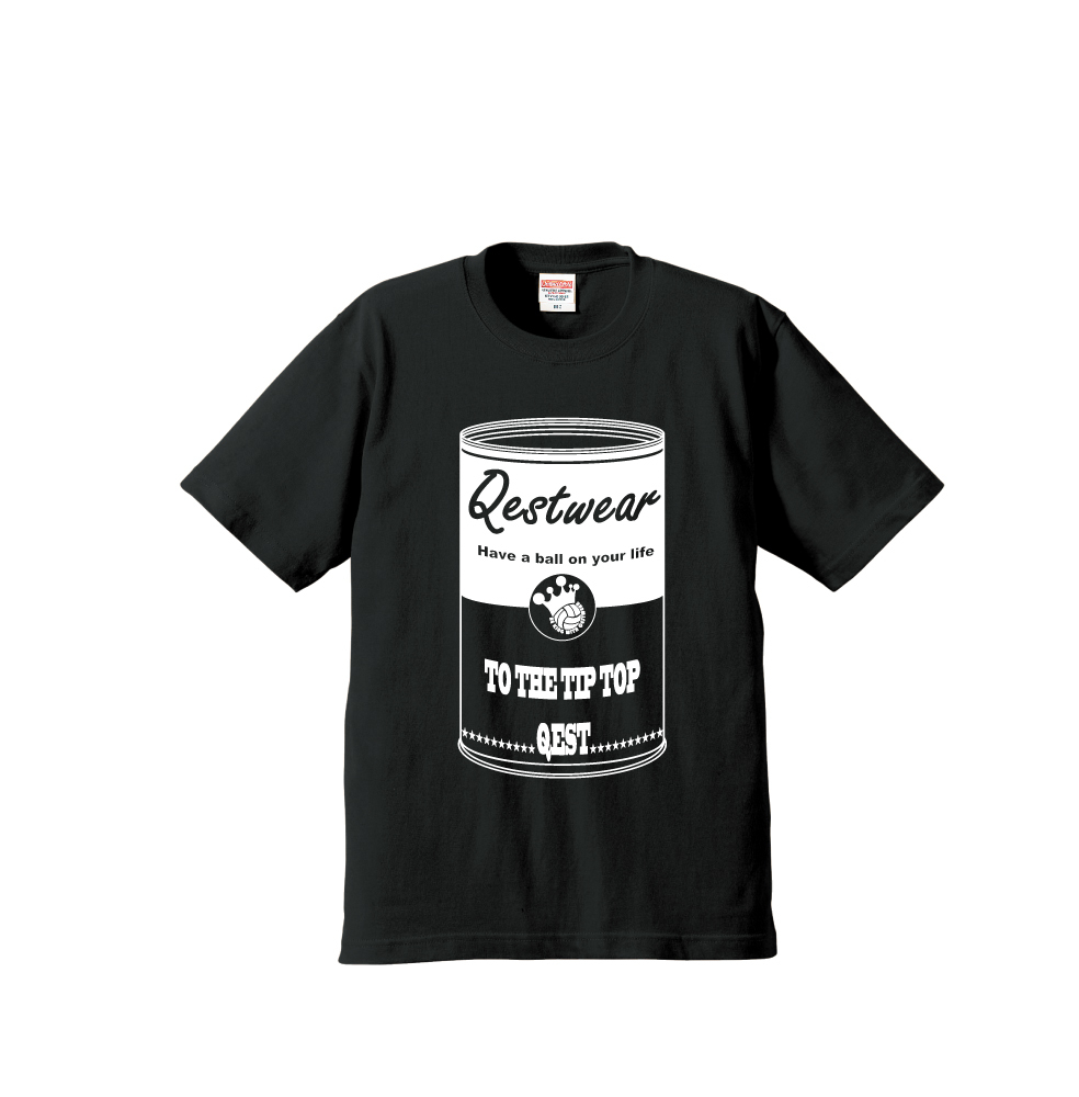 Soup Cans T Shirt / Black - 画像1