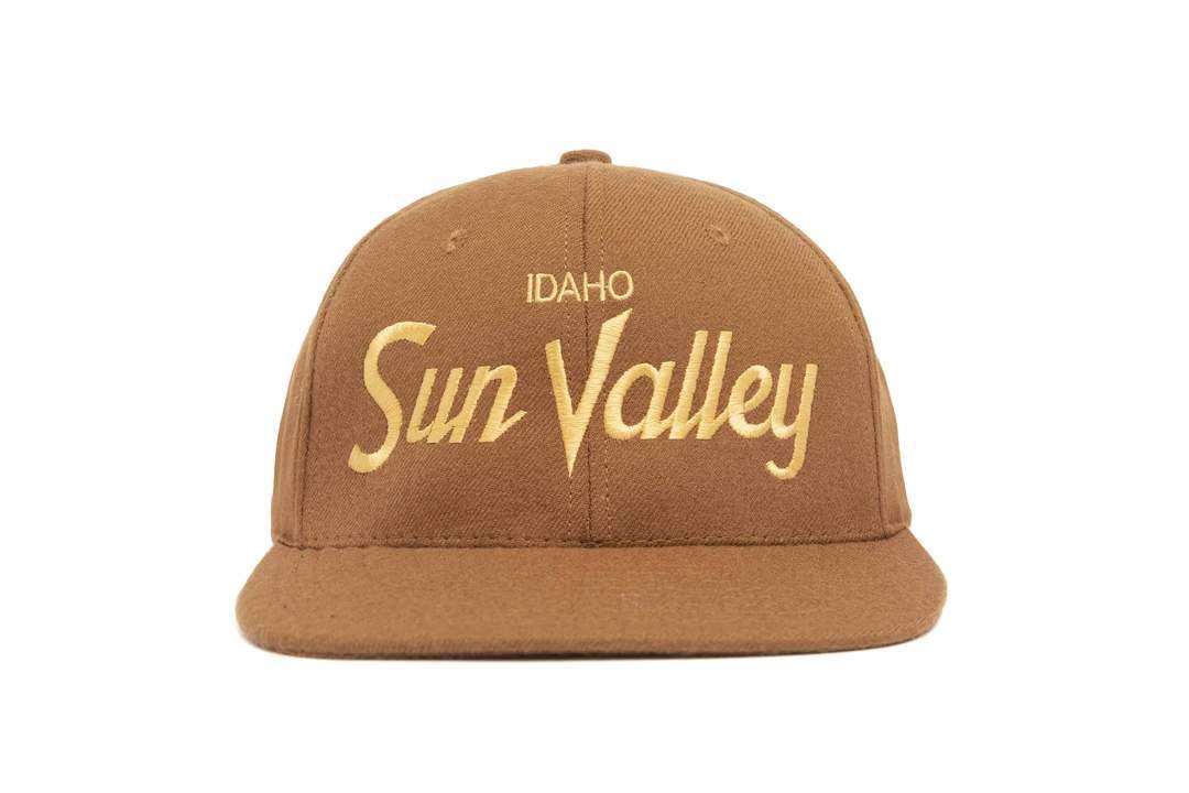"""HOOD®︎ """"Sun Valley"""" CAP BROWN × GOLD"""