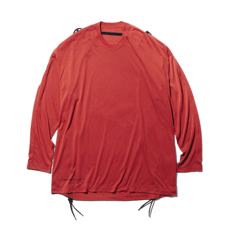 740CUM3-RED / ロングスリーブ コード Tシャツ