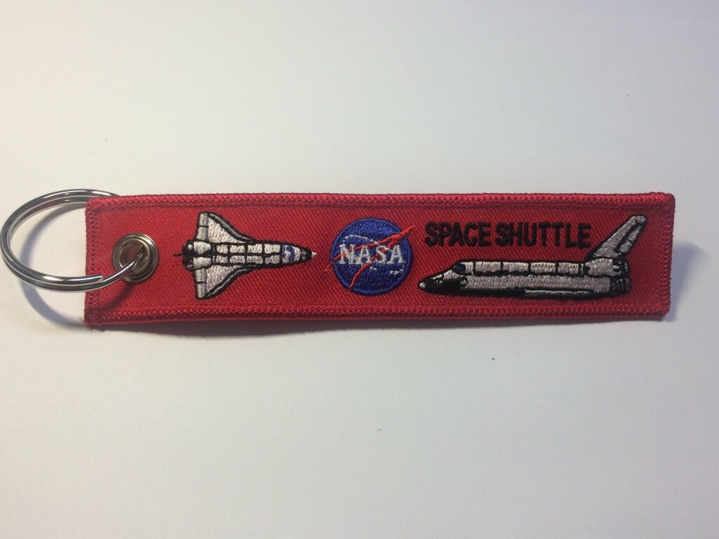 RemoveBeforeLaunchキーホルダー NASA Space Shuttle