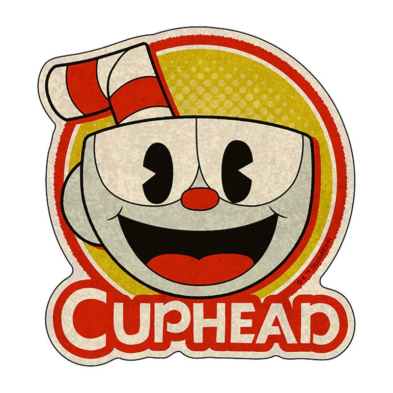 CUPHEAD ( カップヘッド ) トラベルステッカー⑨ / エンスカイ