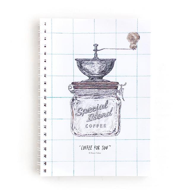COFFEE FOR YOU ノートA (酒井マオリ)