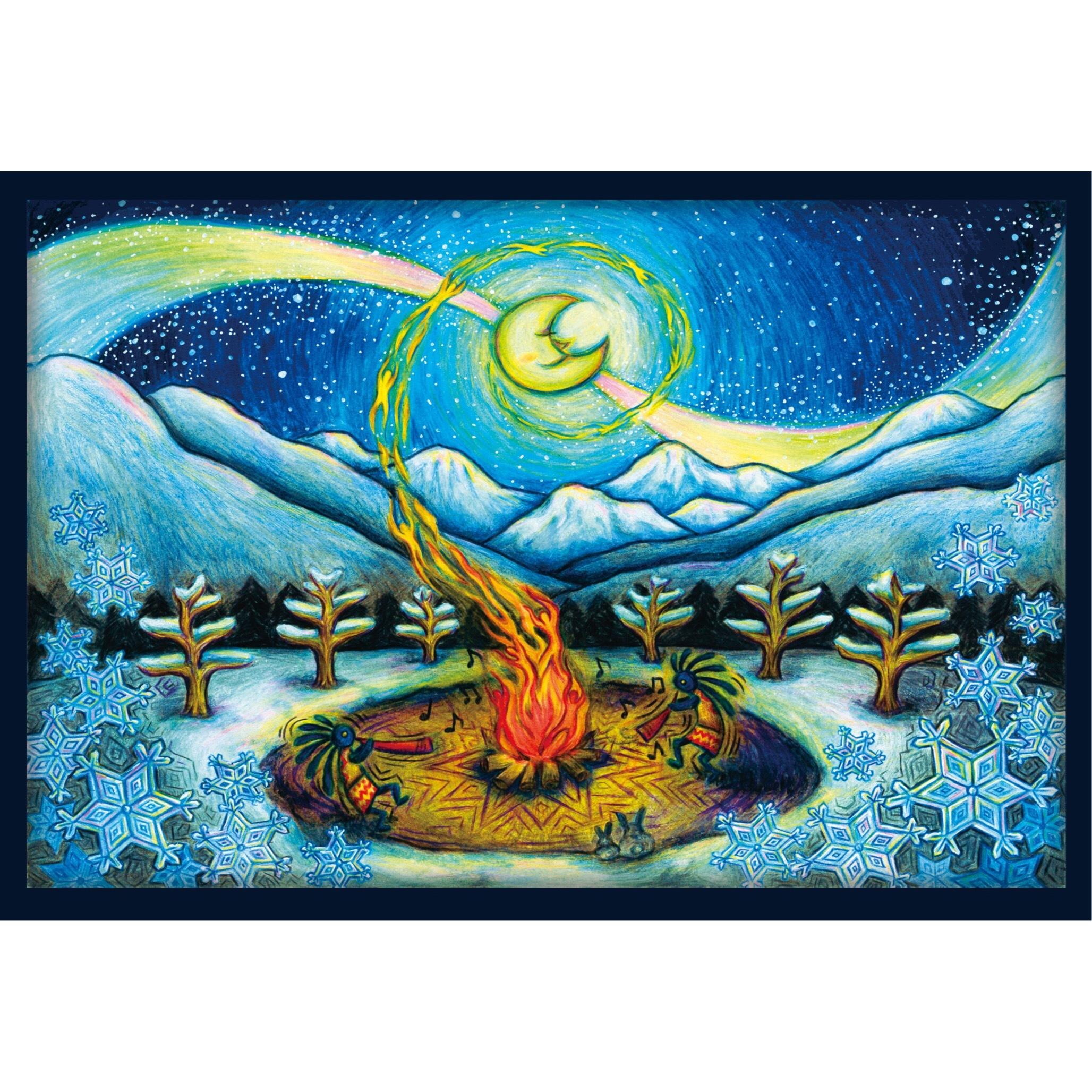 ポストカード『ココペリの冬』