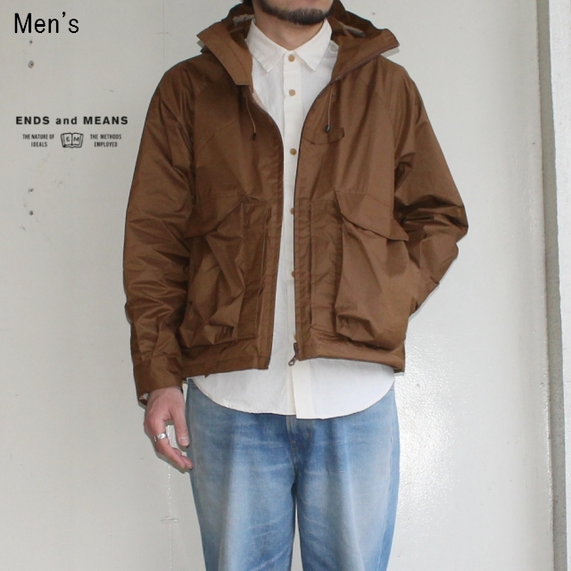 ENDS and MEANS Haggerston Parka (BROWN)