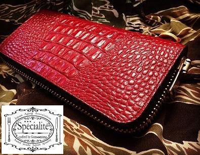 ラウンド式長財布『#10~Red Dragon Ver~』