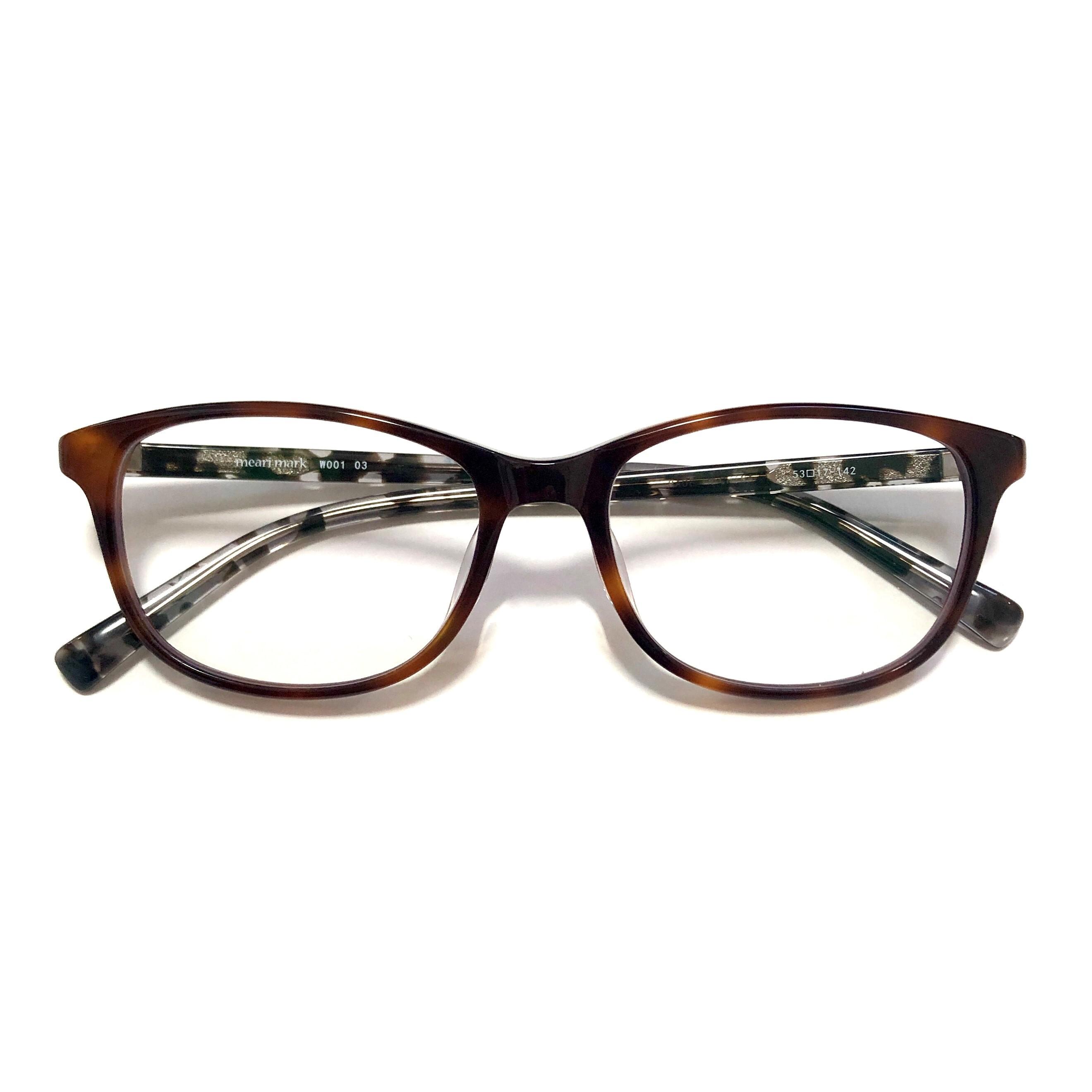 meari mark W001 03(紫外線カットレンズ付きファッショングラス)