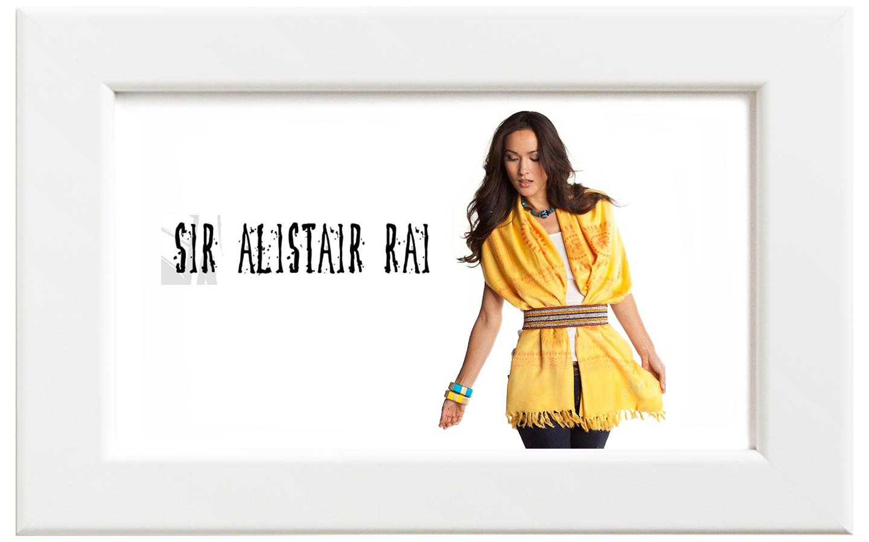 Sir Alistair Rai/サー・アリステア・レイ Gayatri Mantra スカーフ