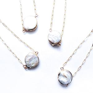Round Pearl Gold Bracelet