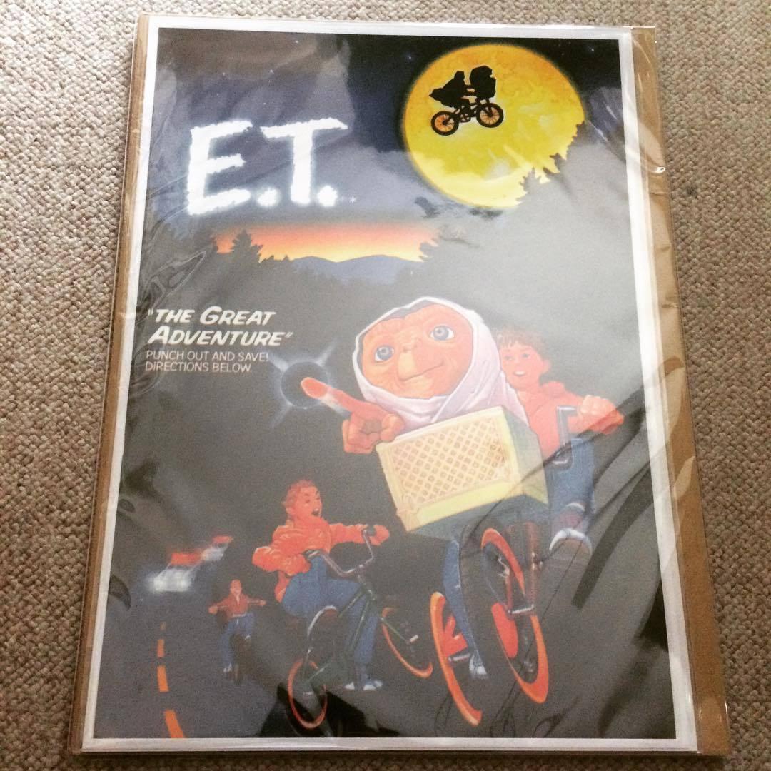 ミニポスター「E.T.」●ET - 画像1