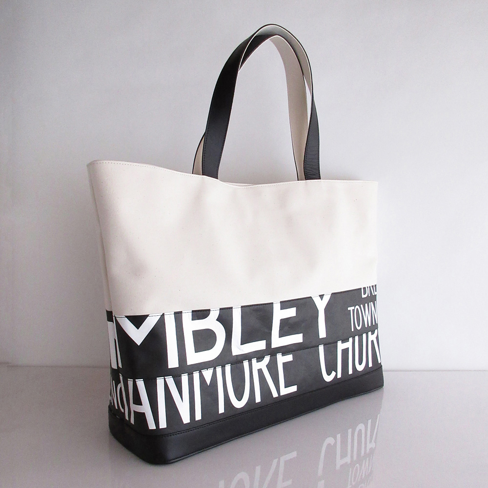Tote Bag (L) / White  TLW-0009