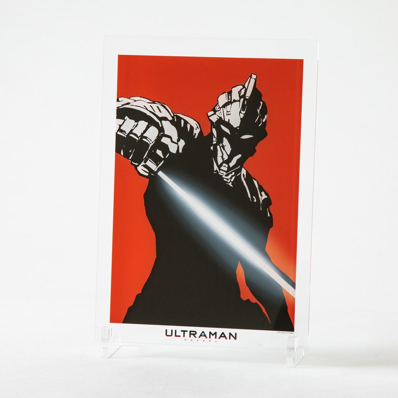 アニメ「ULTRAMAN」アクリルパネル【A4】-シルエット_SEVEN-