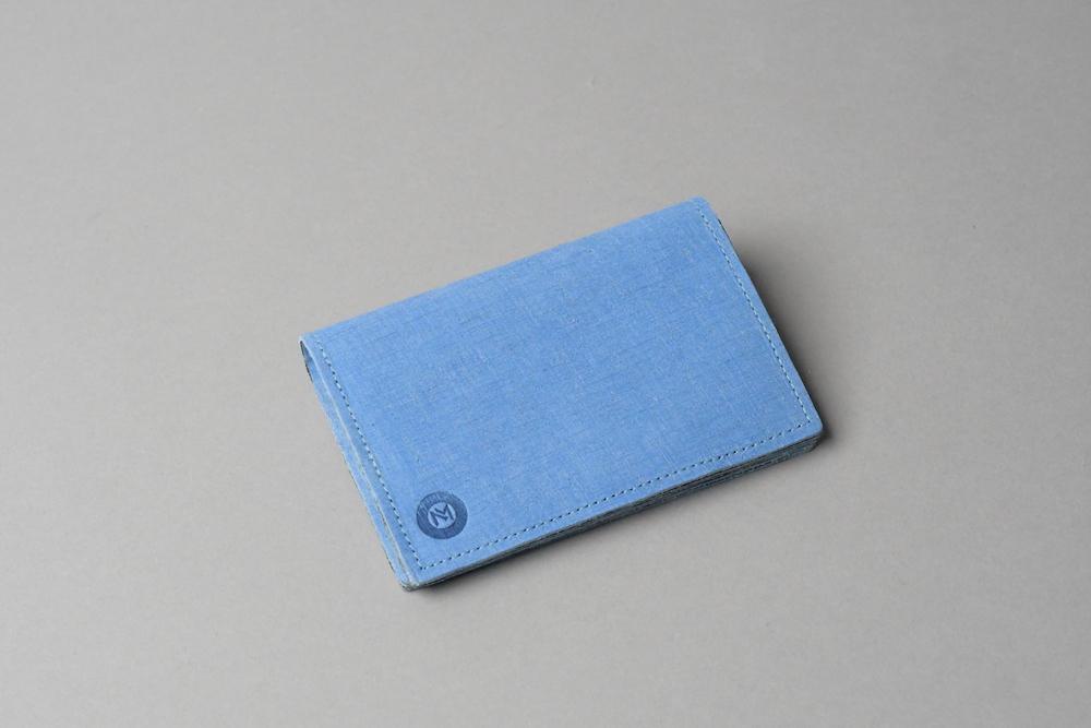 ギフトラッピング無料〇 カードケースSC □コバルトブルー□ - 画像1