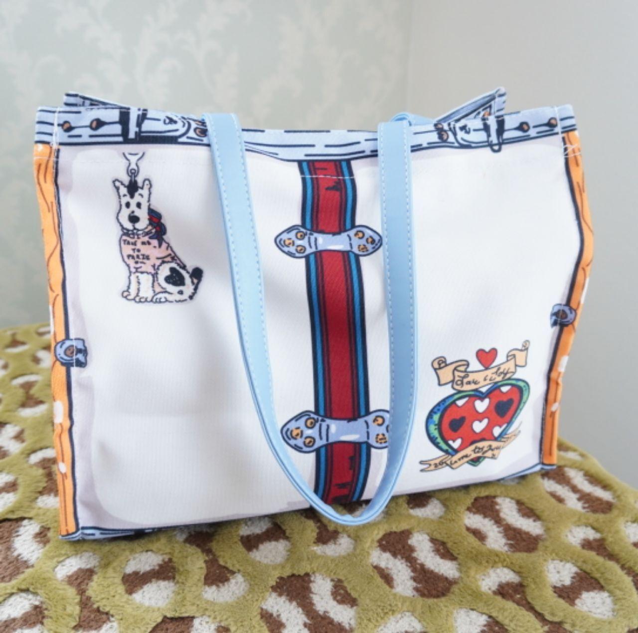 【3月中旬予約】アートキャンパスバッグ