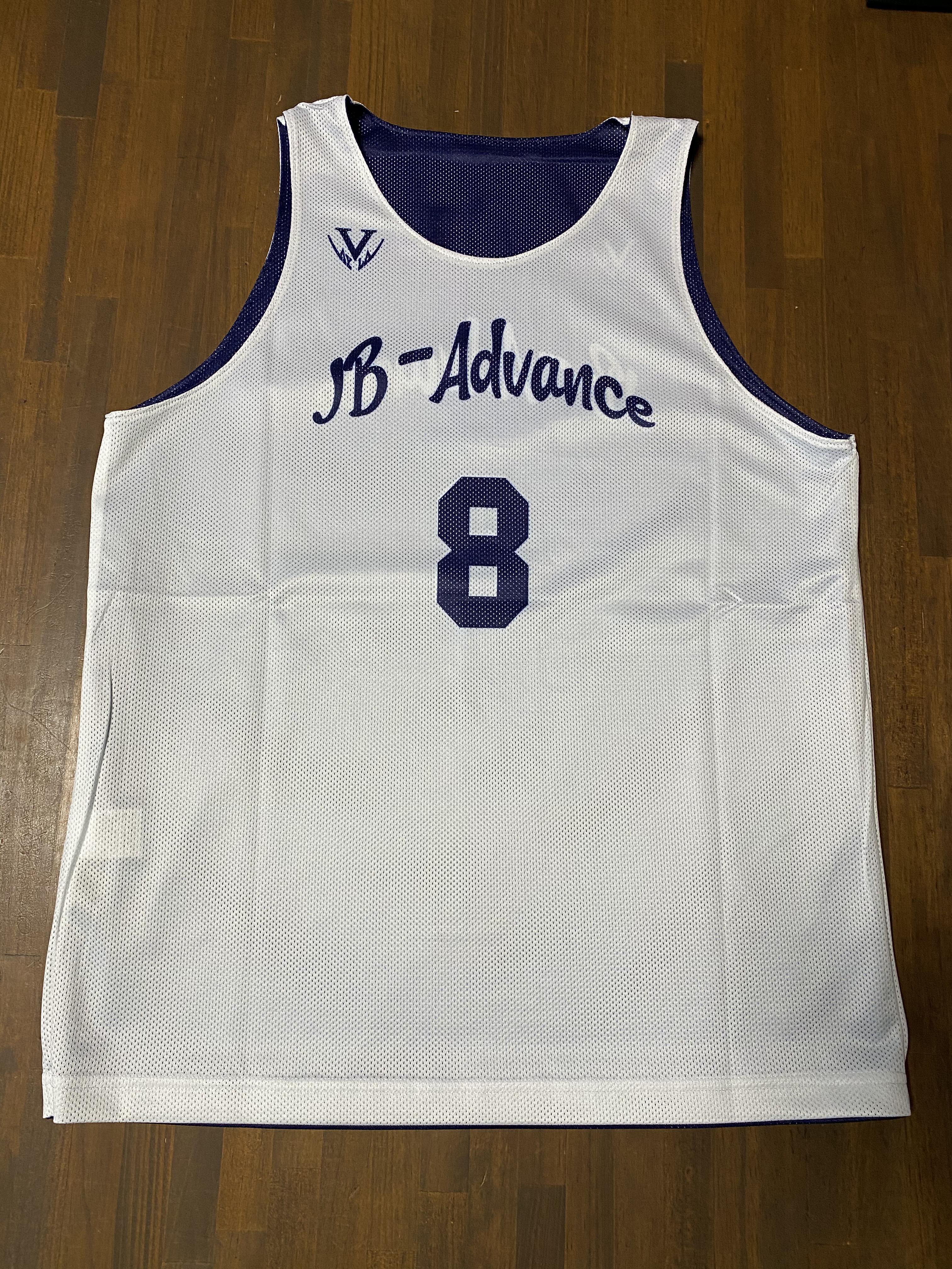 【デザインサンプル】JB-Advance(一般・男子)リバーシブルシャツ