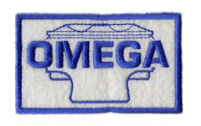 オメガ・ロゴ・ワッペン・Lサイズ