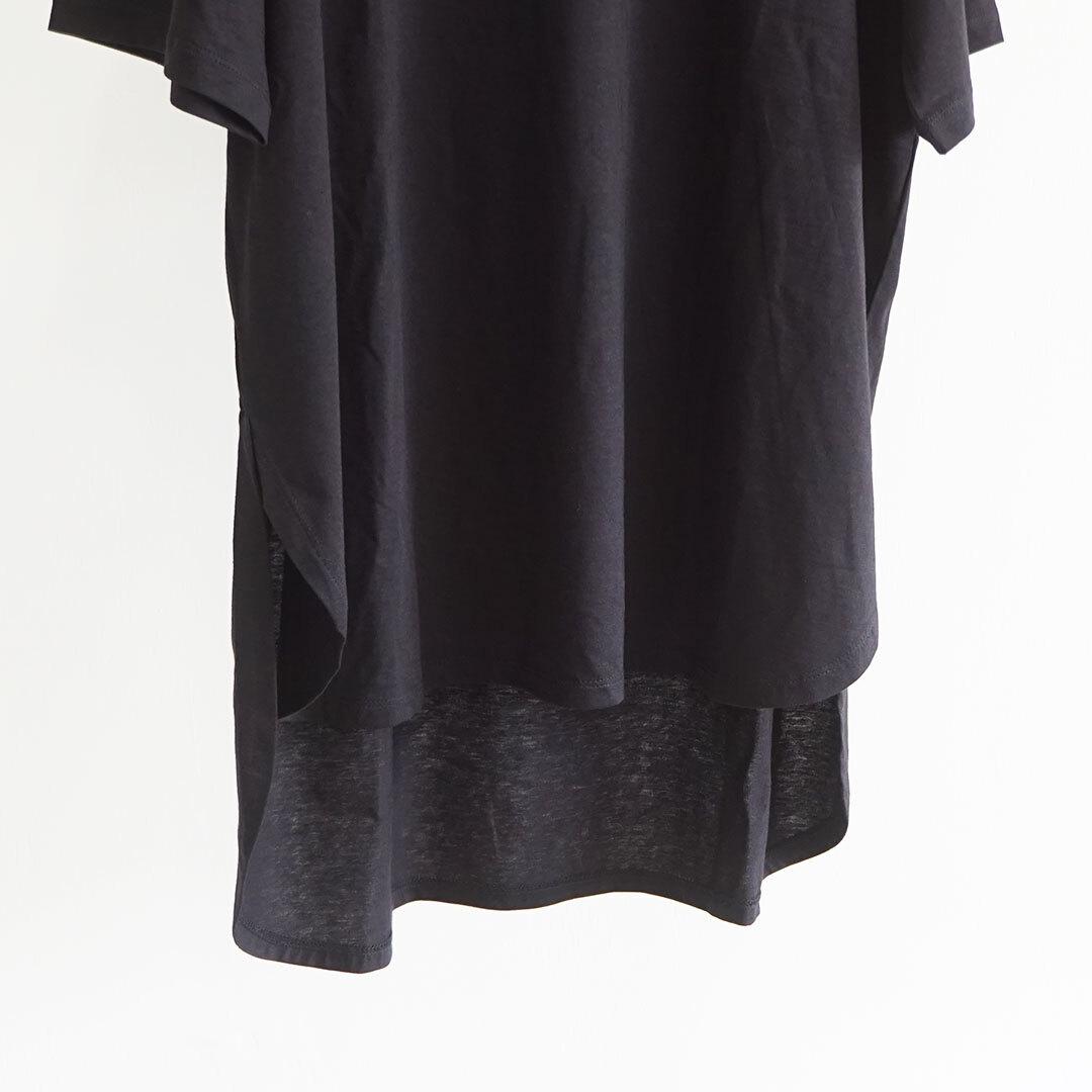 【再入荷なし】 MidiUmi ミディウミ ラウンドチュニックTシャツ (品番2-718141)