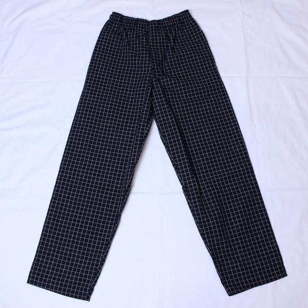 """Uncommon Threads(アンコモンスレッズ) """"Yarn Dyed Chef Pants(ヤーンダイド シェフパンツ)"""" Window Pane"""