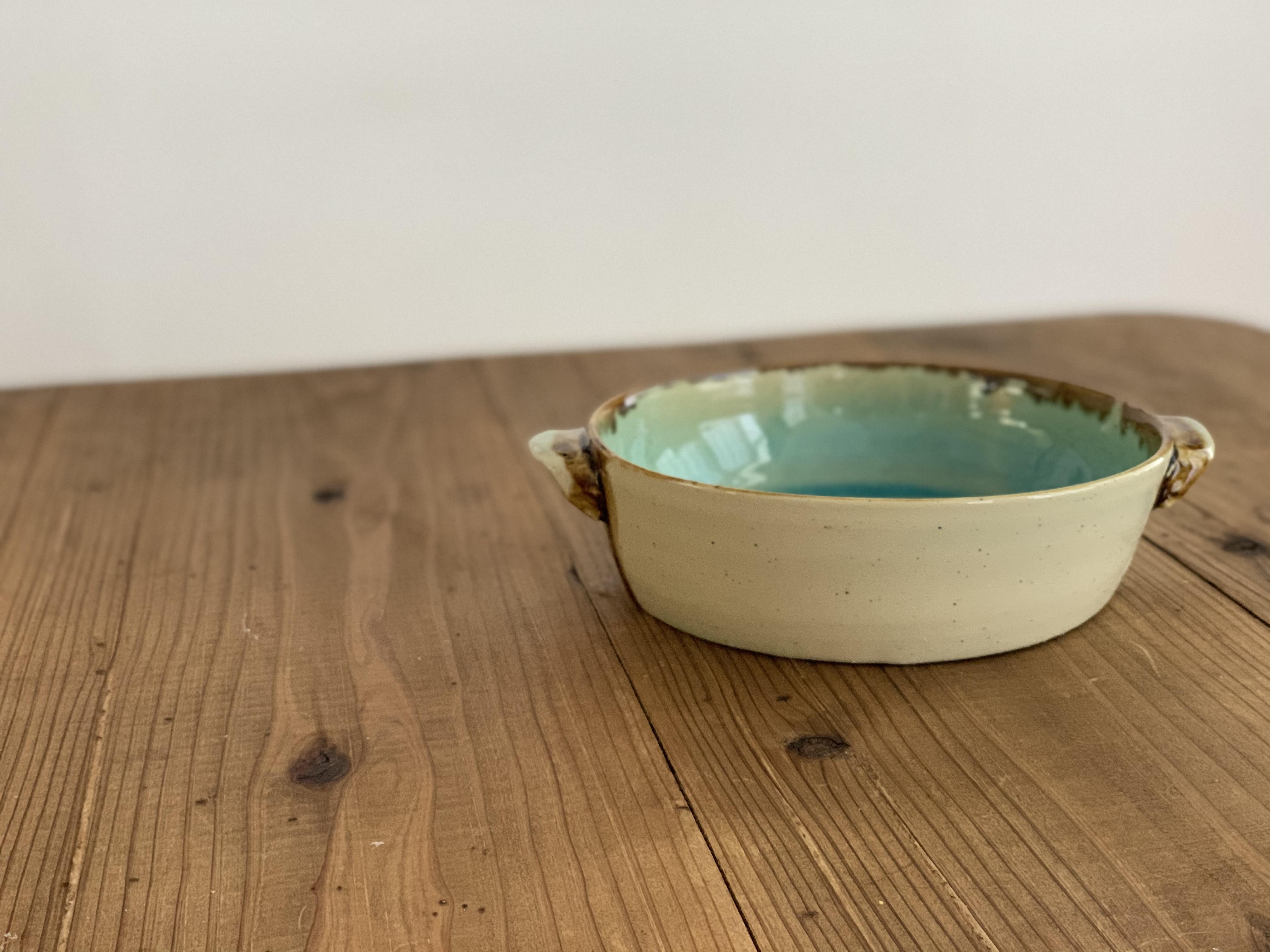 『Al mare アルマーレ』43 Pottery ココット風ボール18cm