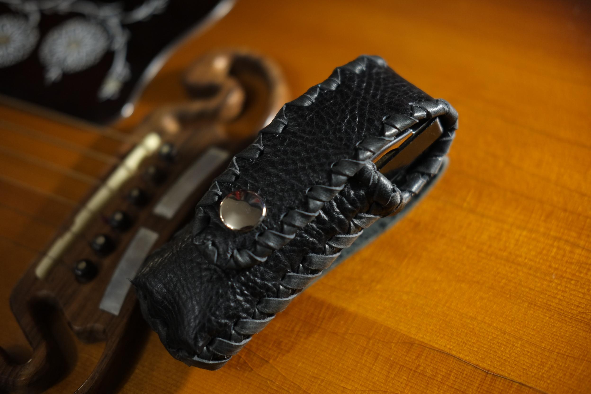 ベルト取り付け式携帯用 ハーモニカ ホルダー(予約販売)