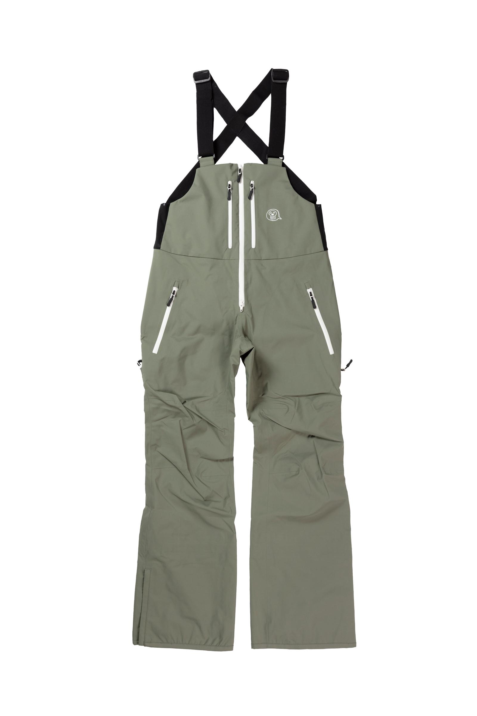 2021unfudge snow wear // SMOKE BIB PANTS // ARMY / 10月中旬発送