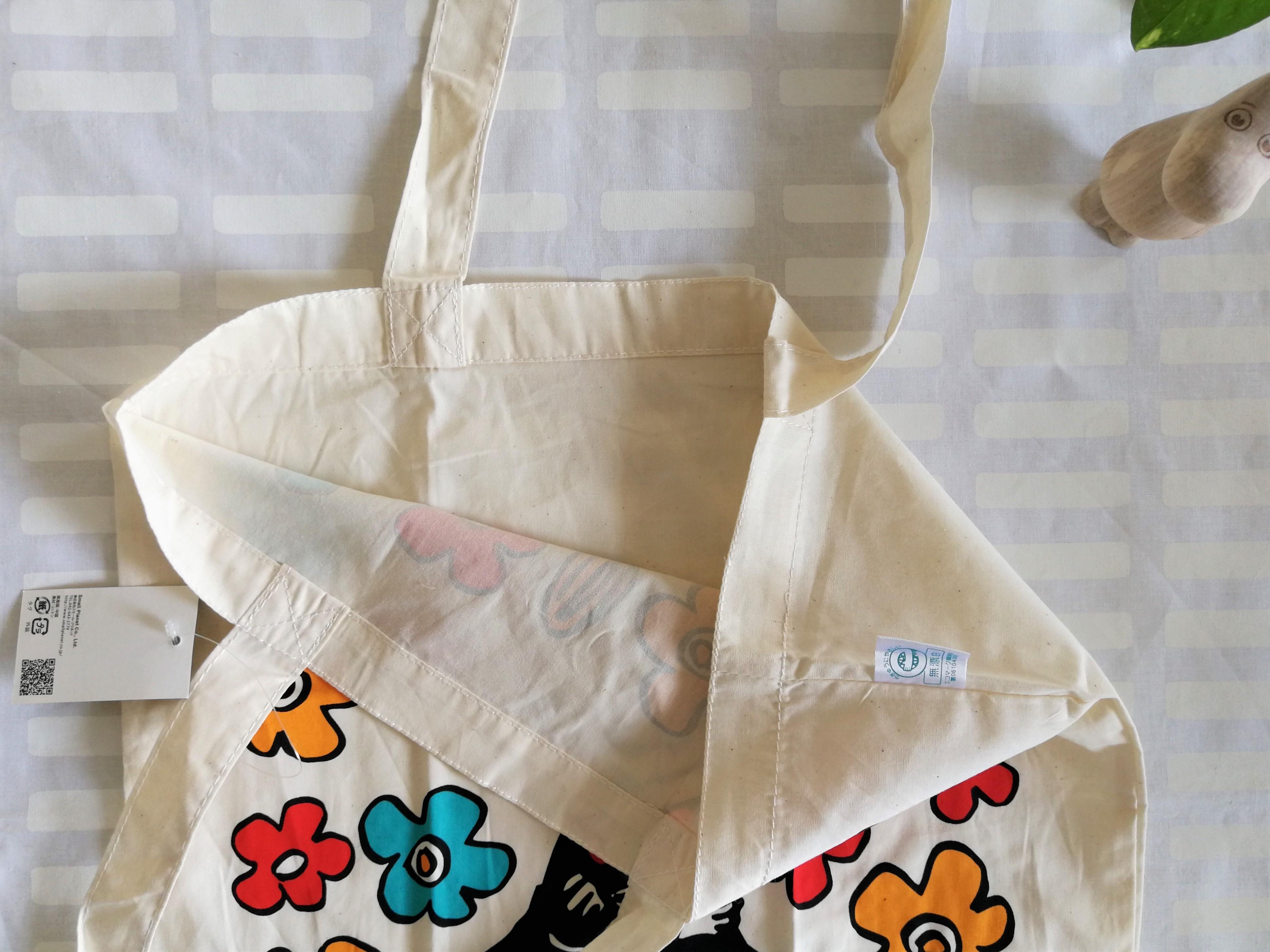 トートバッグ / ムーミン/ リトルミィ(お花)エコマーク付きバッグ