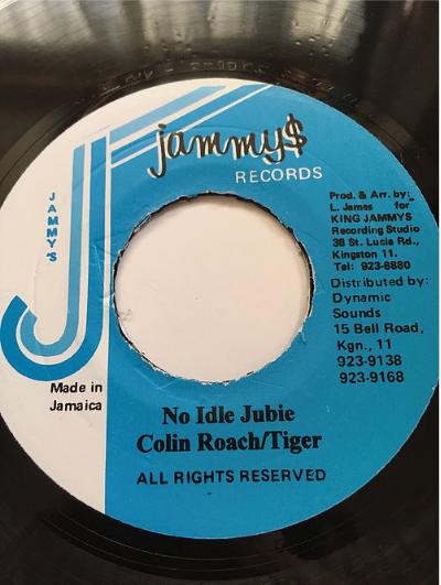 Collin Roach(コリンローチ) & Tiger(タイガー) - No Idle Jubee【7'】