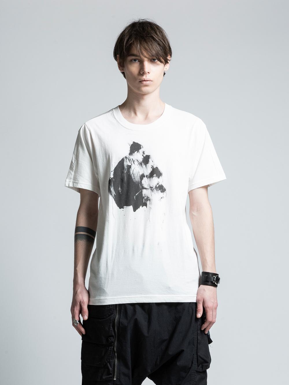 VI-PM-002-01 / PATRICIA MARCH コラボレーションフロントプリントTシャツ