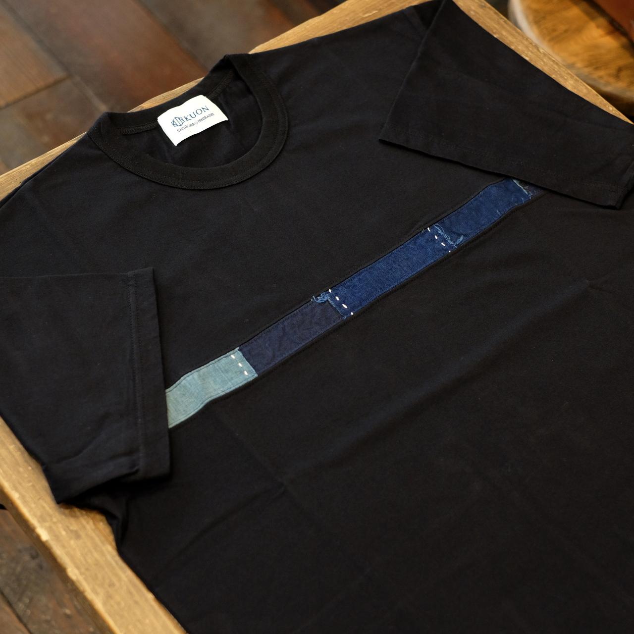 KUON(クオン) アップサイクル襤褸 トリミングTシャツ