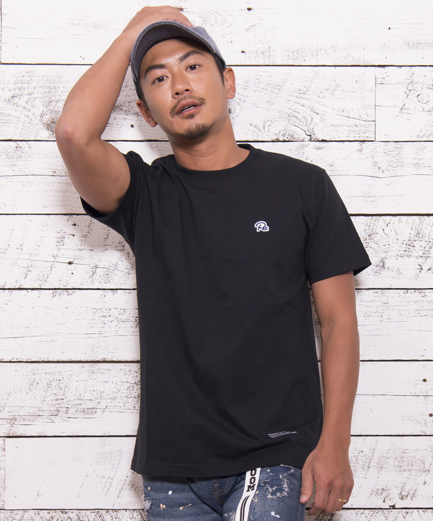 "ONE POINT BASIC T-shirts ""Re:""[REC171]"