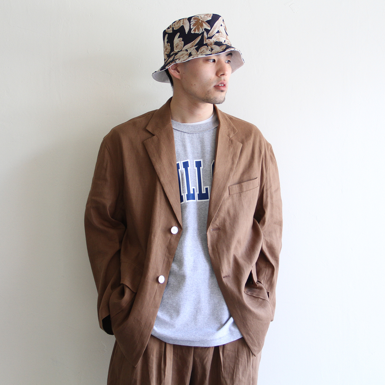 is-ness【 mens 】summer wide jacket