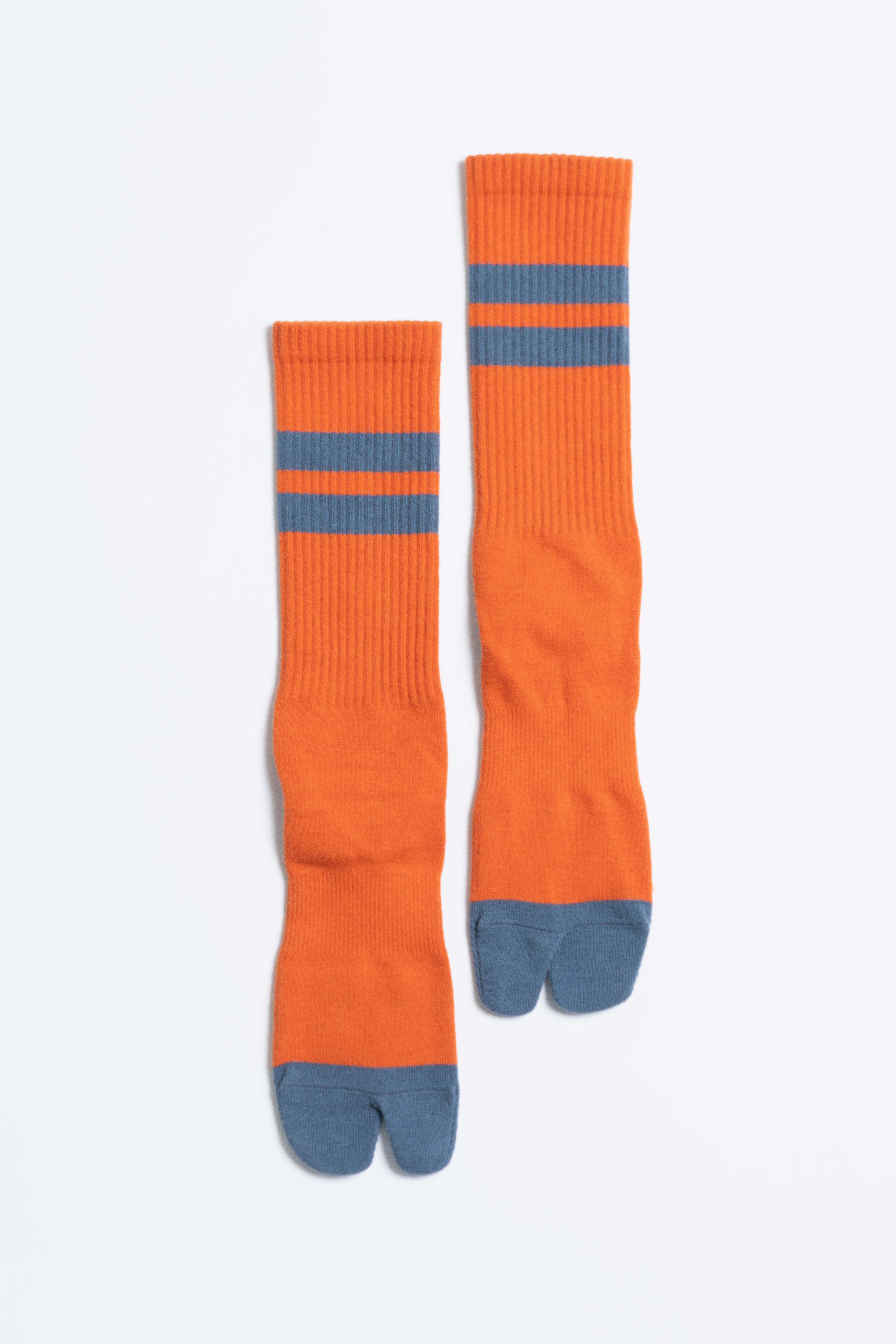 Signature Socks(Autumn Orange × Road Blue)