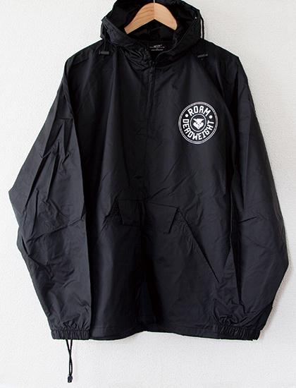 【ROAM】Deadweight Windbreaker (Black)