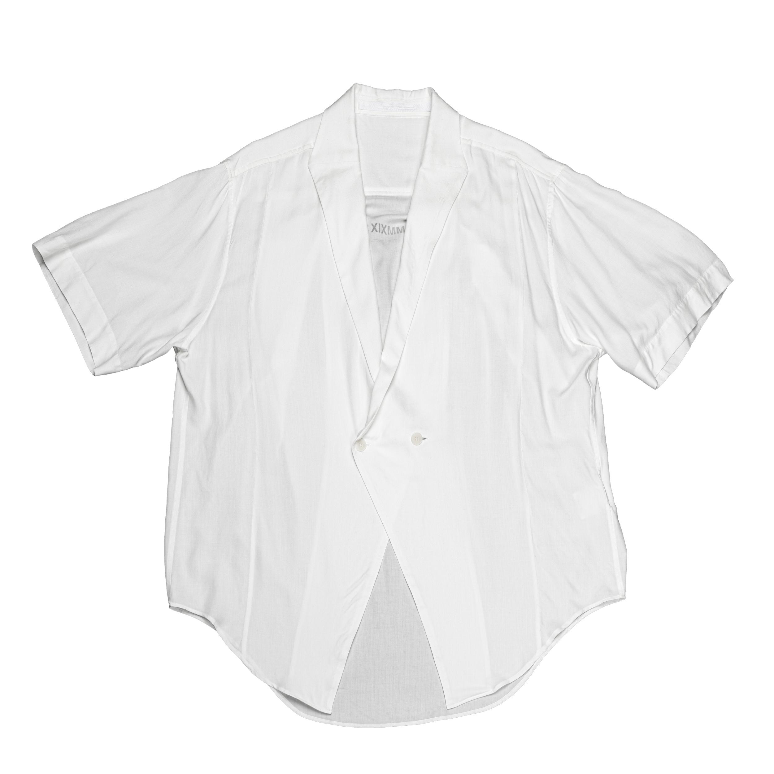 667SHM3-WHITE / ローゼンジカラーシャツ