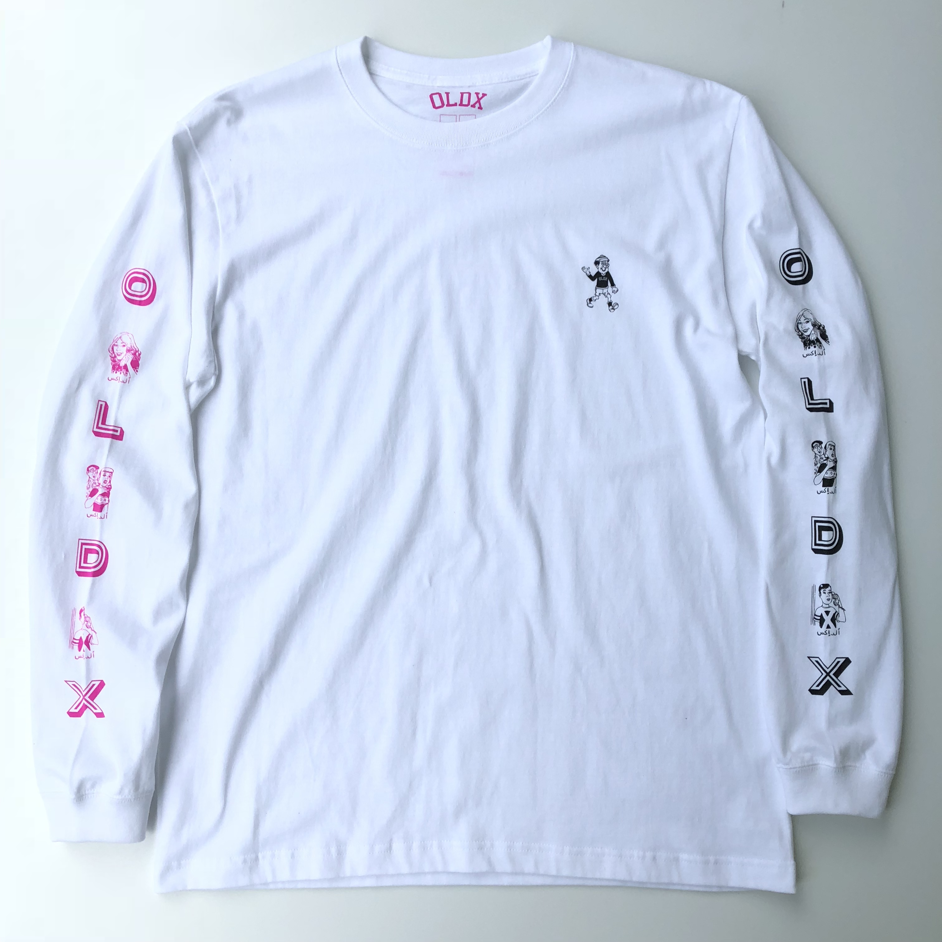 Call me long sleeve T-shirts WHITE