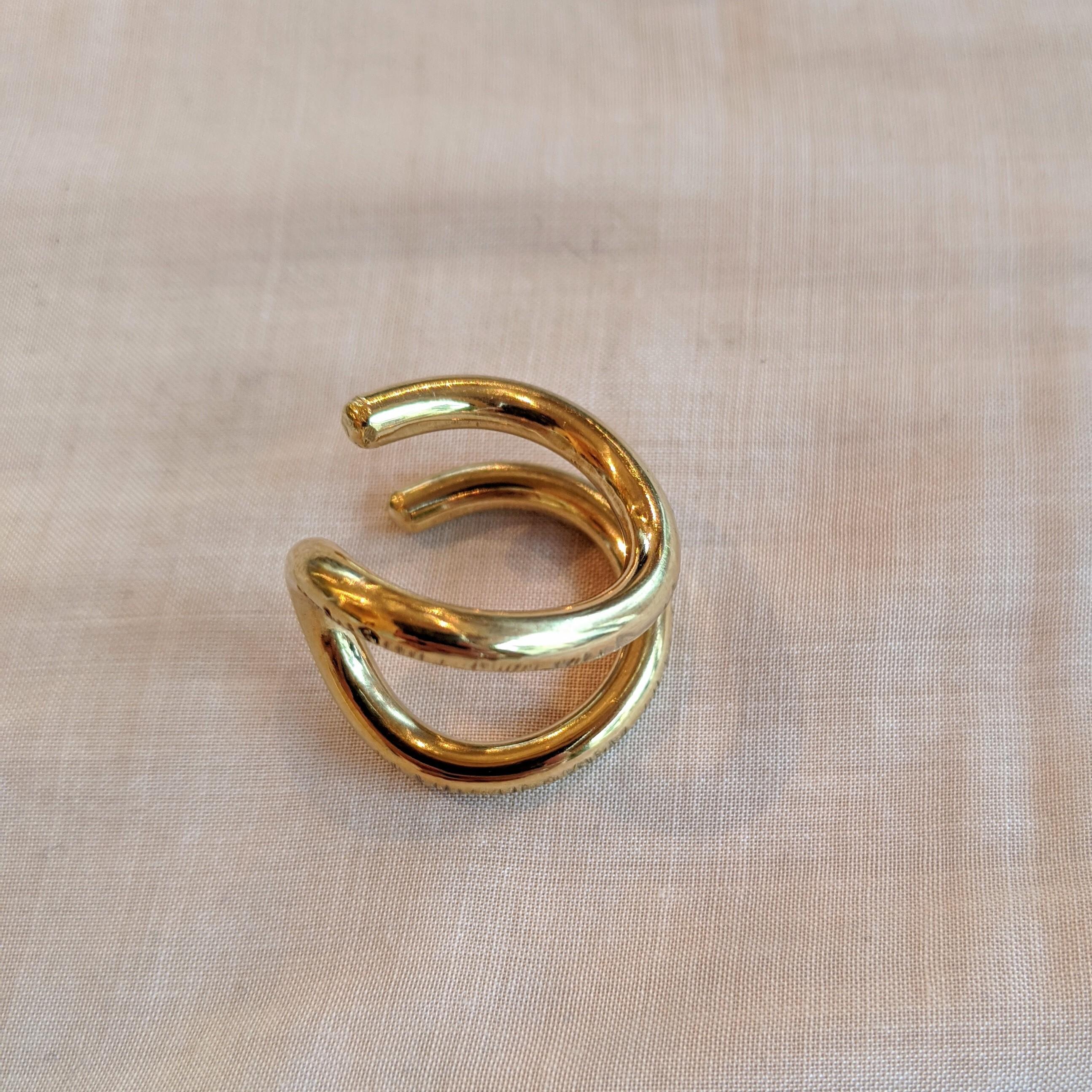 【 jomathwich 】brass ring / P-84 真鍮リング/ 指輪 13号サイズ