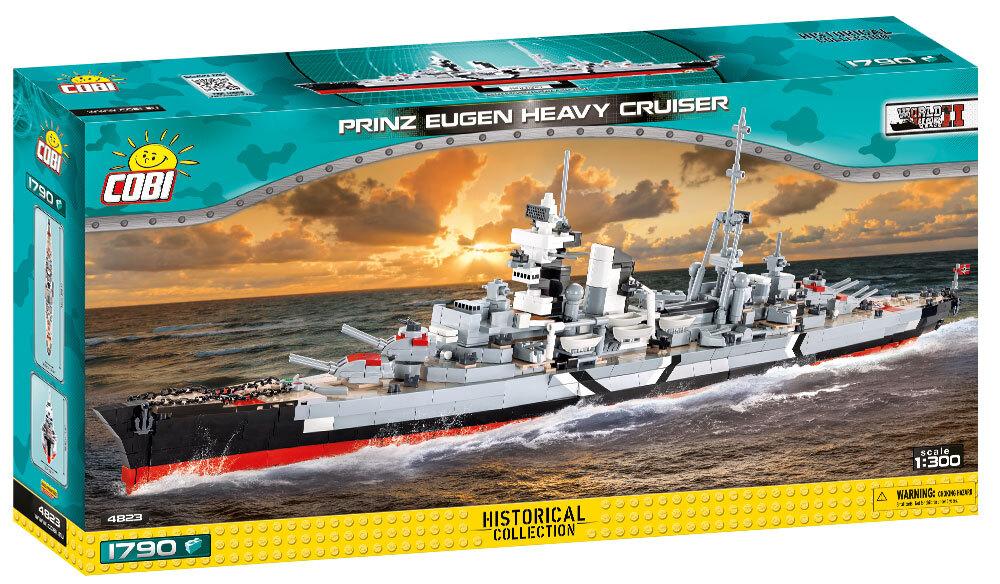 COBI #4823 重巡洋艦プリンツ・オイゲン (Prinz Eugen) 1/300 scale