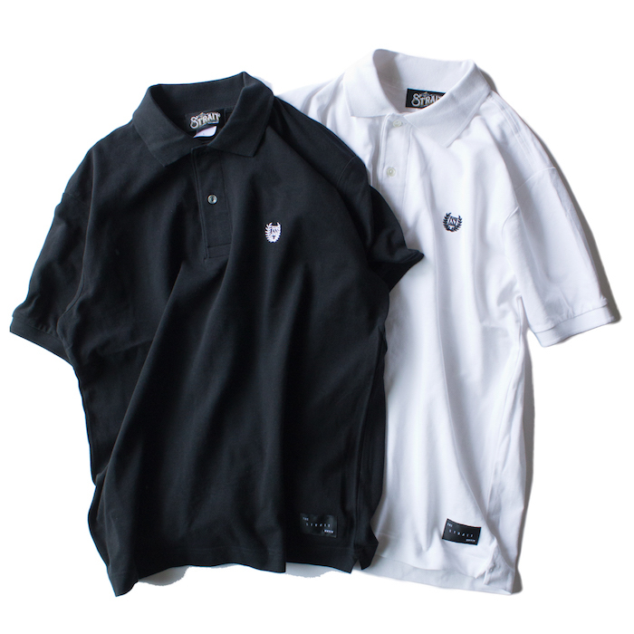 LAUREL S/S POLO-SH #BLACK