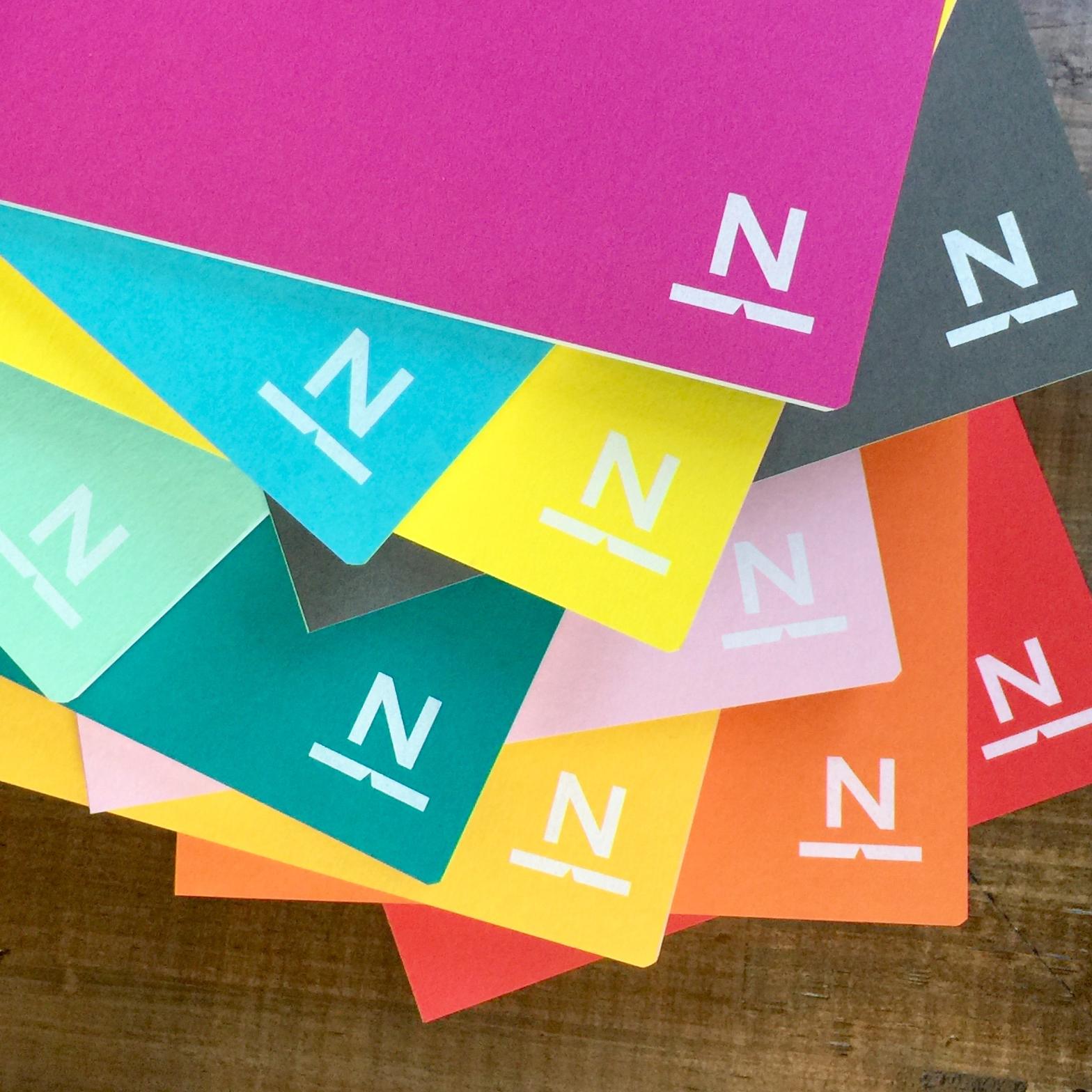 ノンブルノート「N」(XX)シークレットカラー(※2020マンスリー付)
