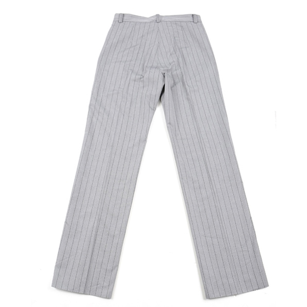 df17SM-14 STRIPE SLACKS PANTS (gray)
