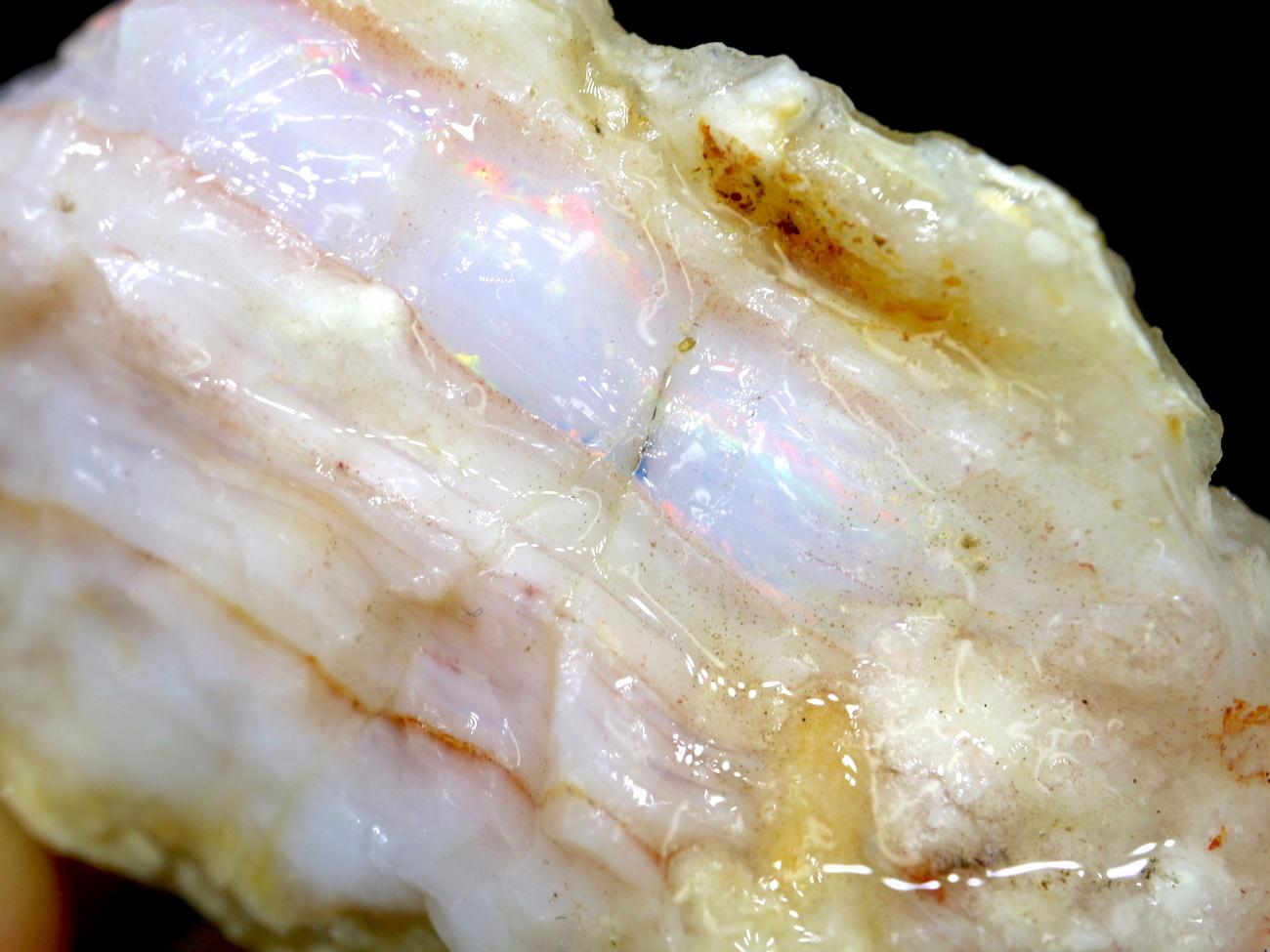 スペンサーオパール アイダホ産 27,2g SCO042 原石 鉱物 天然石 パワーストーン