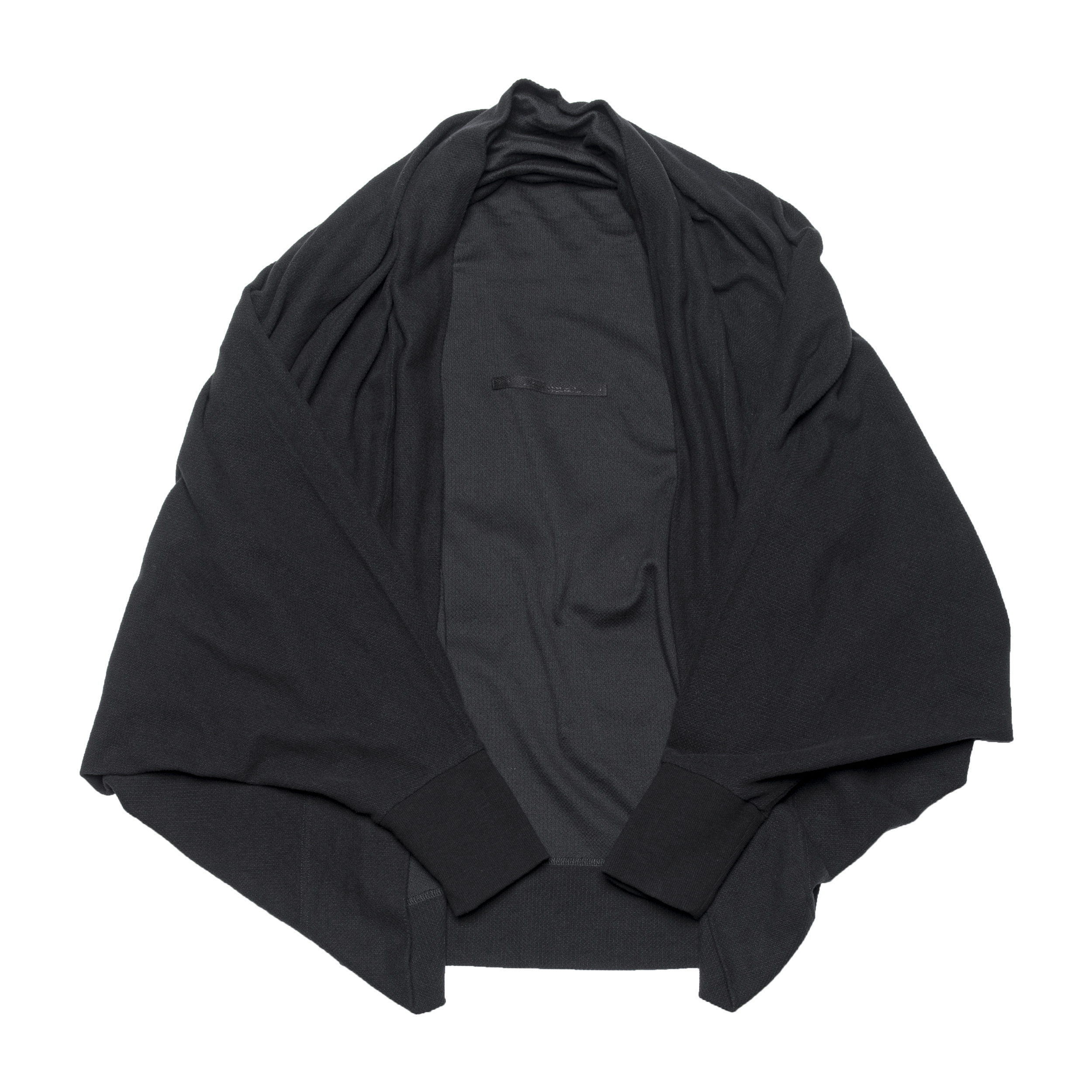 687CUM4-BLACK / コクーンカーディガン