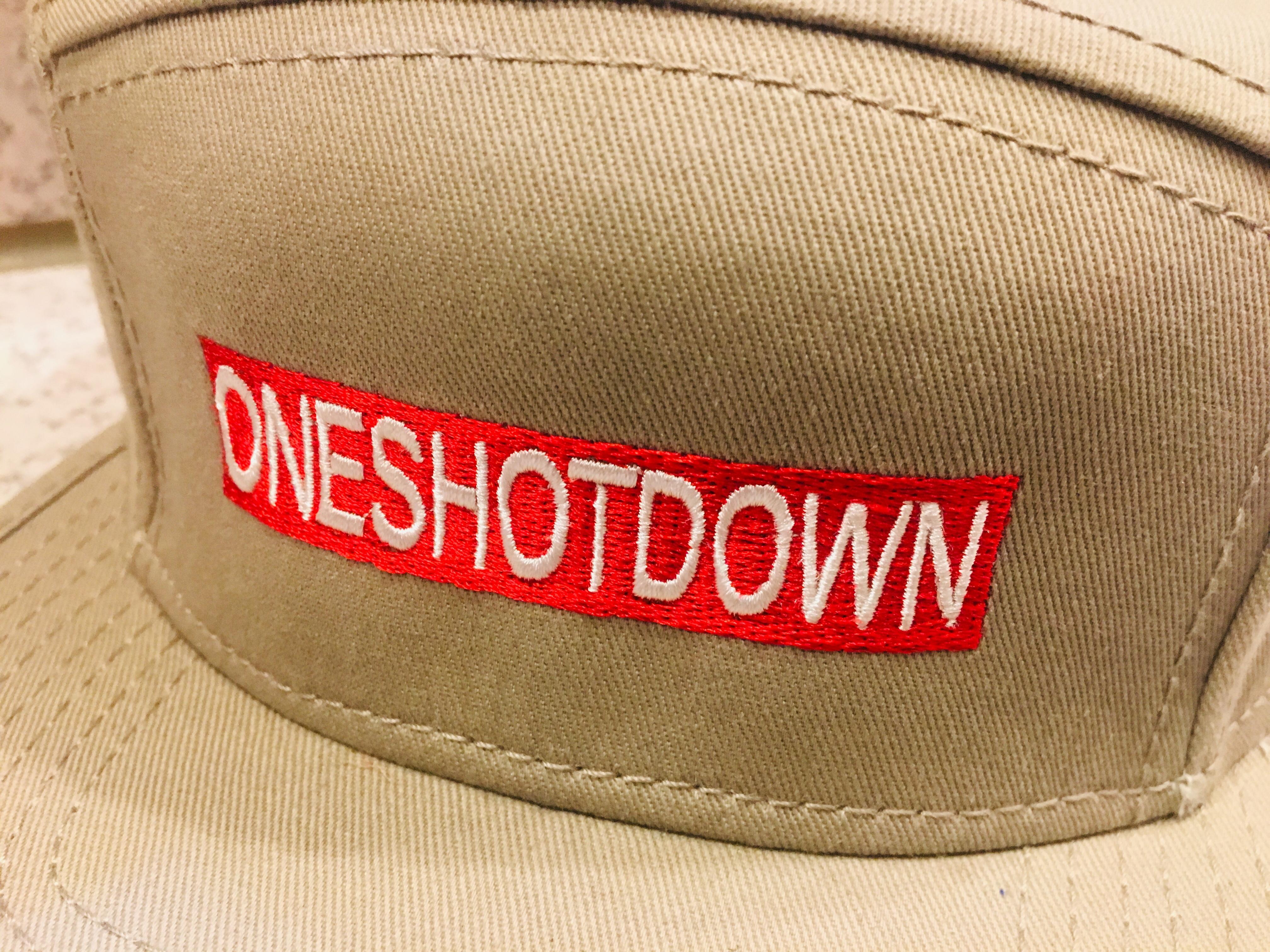 ONESHOTDOWN キャンプCAP - 画像4