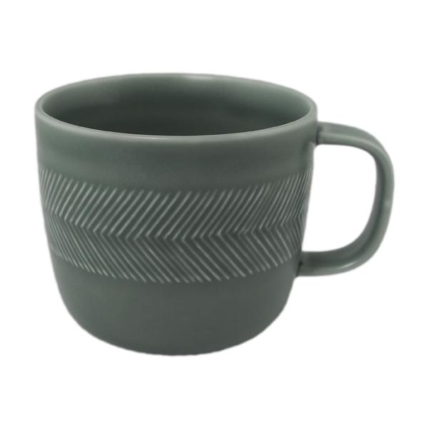 BIRDS' WORDS Tabletop Mug squall gray
