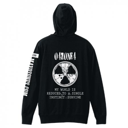 Radioactive(放射能マーク) ジップパーカー