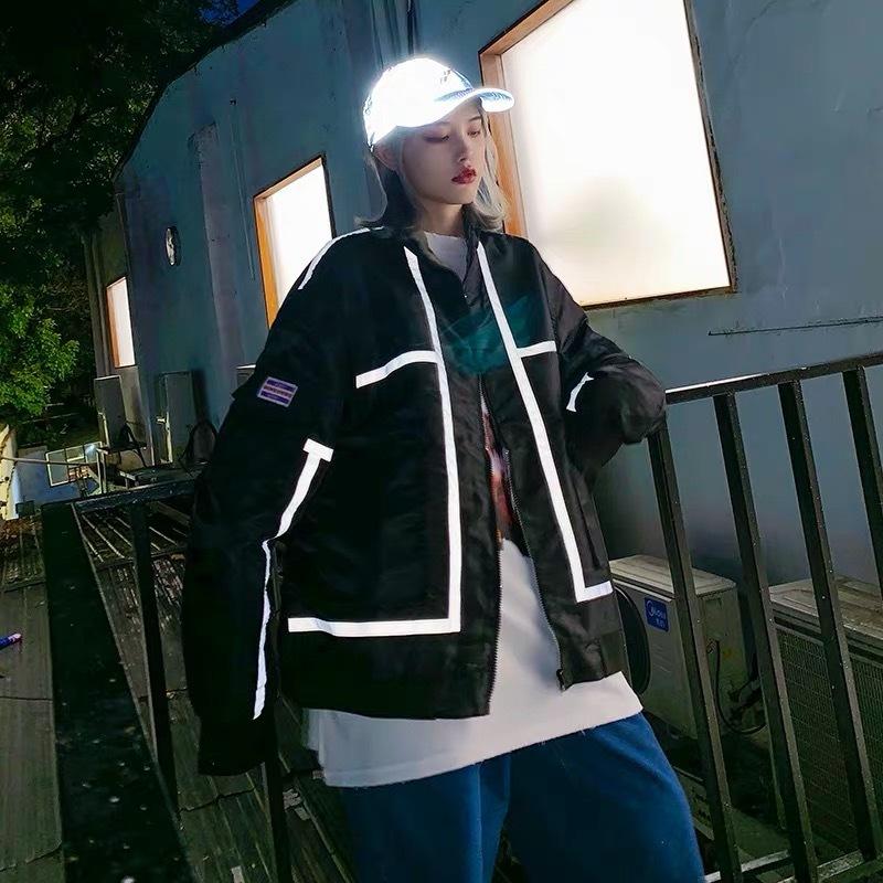 reversible line jacket